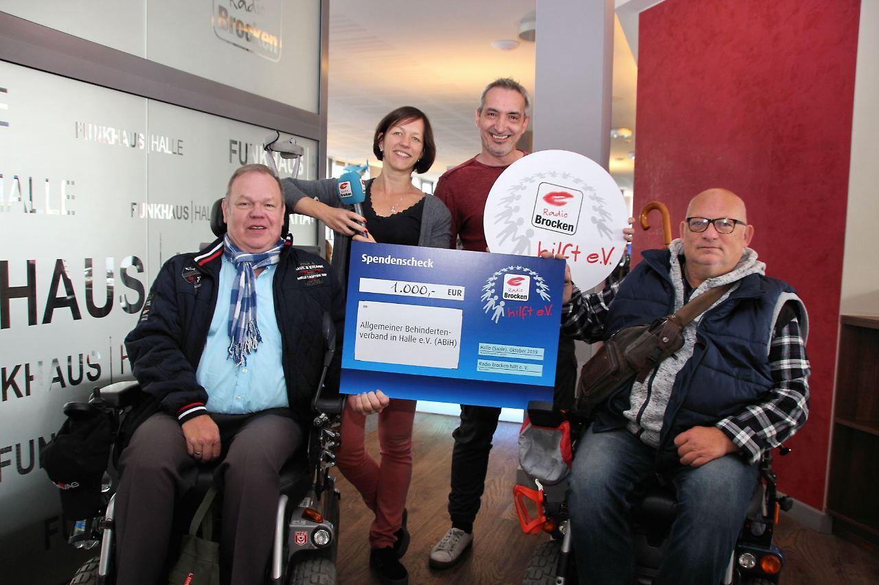 ABiH e.V. erhält 1.000 Euro vom Radio Brocken hilft e.V.
