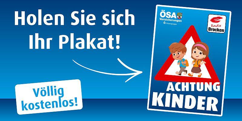 ACHTUNG KINDER! Eine Initiative von Radio Brocken und den ÖSA Versicherungen - für einen sicheren Schulweg!