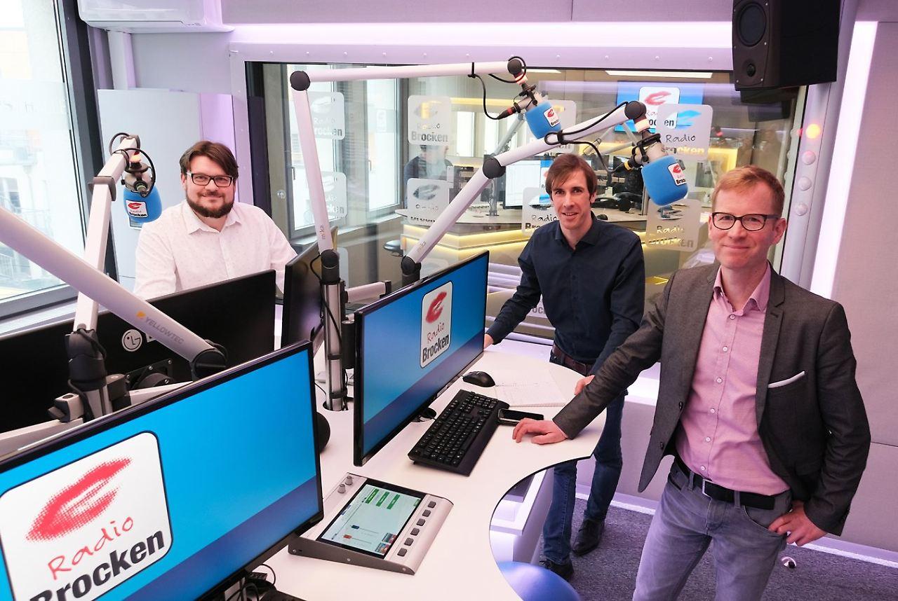 Lars Frohmüller, Jan Schumann und Hagen Eichler (v.l.n.r.)