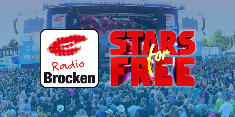 Radio Brocken Stars for Free Stream