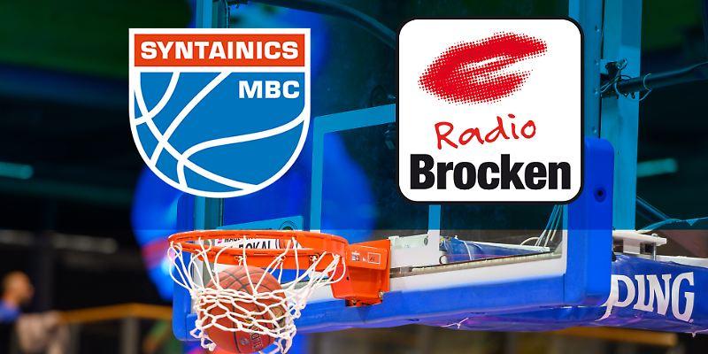 Radio Brocken präsentiert die Heimspiele des SYNTAINICS MBC
