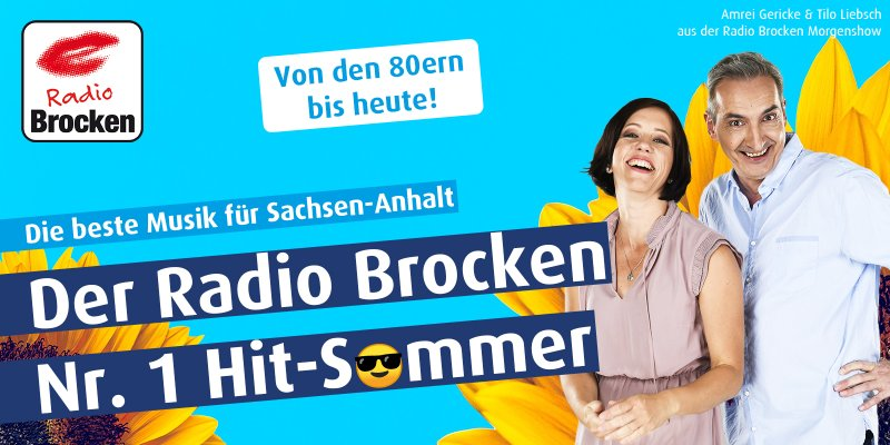 Der Radio Brocken Nr. 1 Hit-Sommer