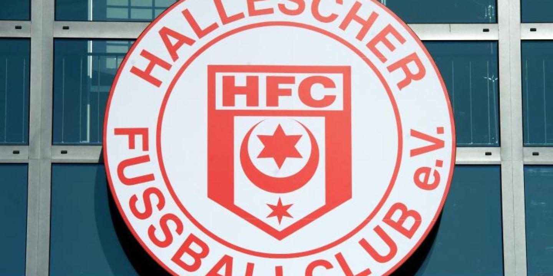 Das Logo von Hallescher FC.