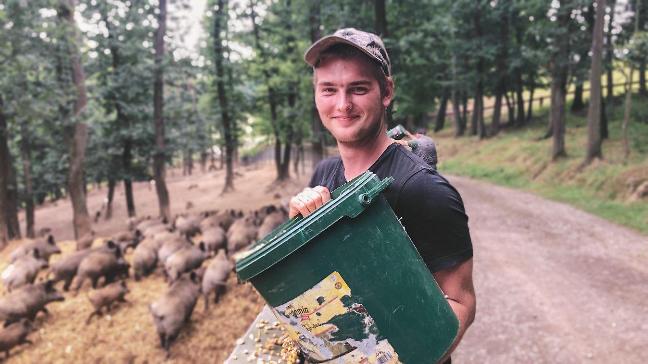 Tierpfleger Silas Graubach