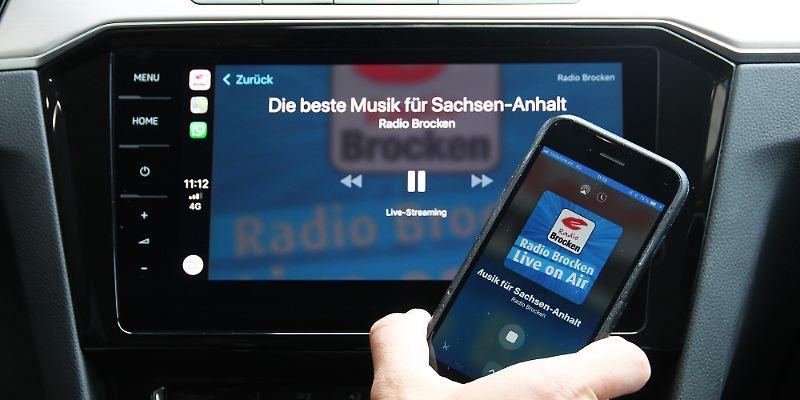 Radio Brocken über Apple CarPlay hören